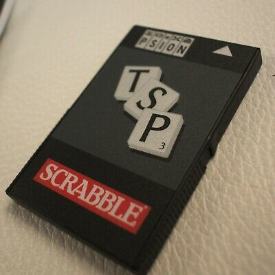 Scrabble solid state disk, for Psion Series 3/3c/3a, with manual