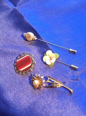 Pin Brooches And Others