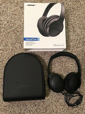 Bose SoundTrue Around-Ear Wired Headphones II Black Clean Mint