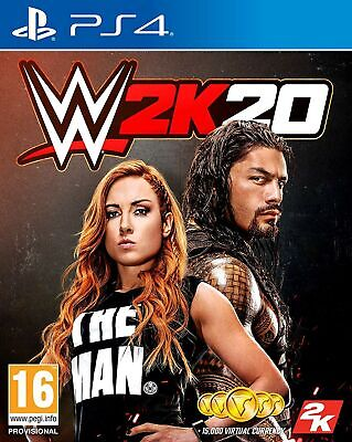 WWE 2K20 (PS4) NEW Sealed