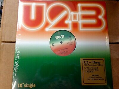 U2 - Three - Numbered Ltd Ed - Record Store Day Black Friday 2019 - Reissue