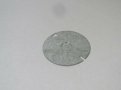 """Hubbell 54-C-6 4"""" Round Receptacle Box Cover  USED"""