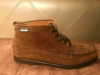 NEW Mens Sz 13 SEBAGO Beacon B72561 DOCKSIDES Dark Brown Suede Boots Shoes