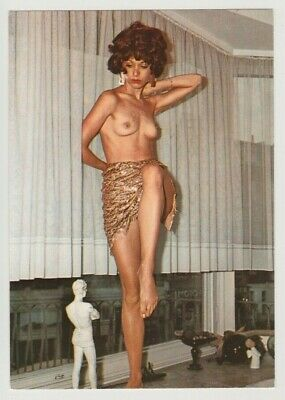 Postcard Pinup Risque Nude Girl Stunning Beauty Extremely Rare Post Card 10613
