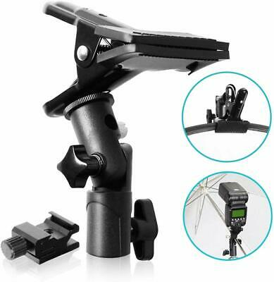 Selens Clip Clamp Holder Bracket for Reflector Umbrella Flash Background with