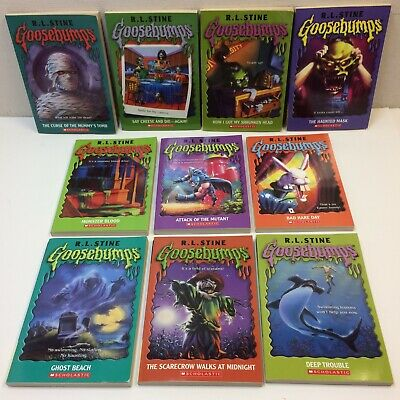 Lot of 10‼ Goosebumps PB Books RL Stine • EUC‼ • FREE S/H‼