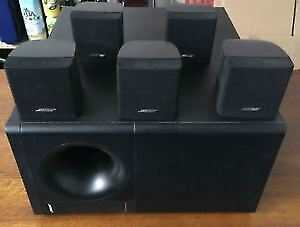 bose acoustimass 6 series ll home cinema system come with all cables complete