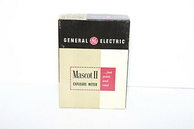 Vintage GE Mascot II Exposure Light Meter Type PR-35 In Box - Ships From Canada