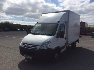 Iveco daily Box Van with tail lift