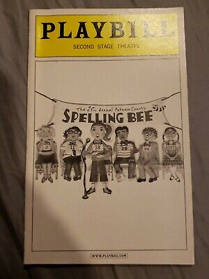 The 25th Annual Putnam County Spelling Bee Playbill 2005 OBC Celia Keenan Bolger