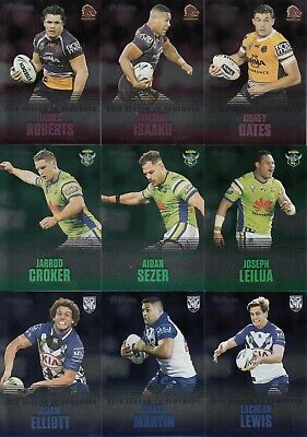 2019 Nrl Traders Season To Remember Trading Cards - Full Set Of 48