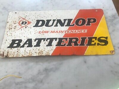 Dunlop Tin Sign Original
