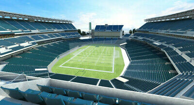 2 Eagles vs Giants Tickets Dec 9th 8:15 PM  Sec. 214, Row 5 UNOBSTRUCTED VIEW