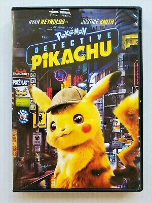 Pokemon Detective Pikachu (DVD) Ryan Reynolds  Justice Smith
