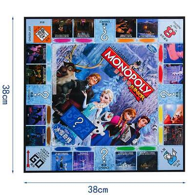 Monopoly Frozen II Board Game -Family Fun Christmas Gifts Party Birthday Group