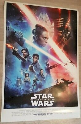 STAR WARS THE RISE OF SKYWALKER (2019) - POSTER 27x40 DS ORIGINAL
