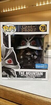"FUNKO POP! The Mountain 6"" Walmart Exclusive Game of Thrones 78 6in"