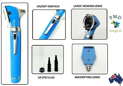 Fiber Optic Otoscope Ophthalmoscope ENT Diagnostic Examination for Peofessionals