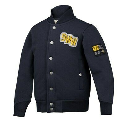 Snickers 7500 Junior Pile Jersey Jacket Navy. Various Sizes