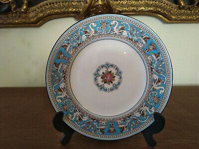 Wedgwood Florentine Turquoise 8 inch Plate 2nd Quality in Excellent Condition