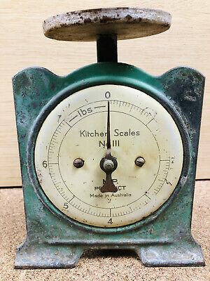 Kitchen Scales No.III vintage MR Product, Imperial lbs, made in Australia
