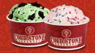 $25.00 Cold Stone Creamery Gift Card- Free Shipping!