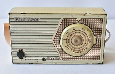 1950s Made In Japan Tin Toy Transistor Radio