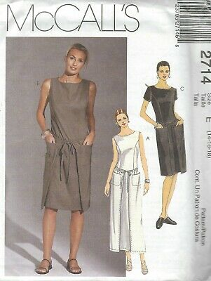 McCall/'s 4055 Misses/'//Miss Petite Dresses    Sewing Pattern