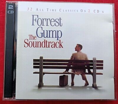 Forrest Gump 2 x Cd set movie soundtrack - 32 All Time Classic songs