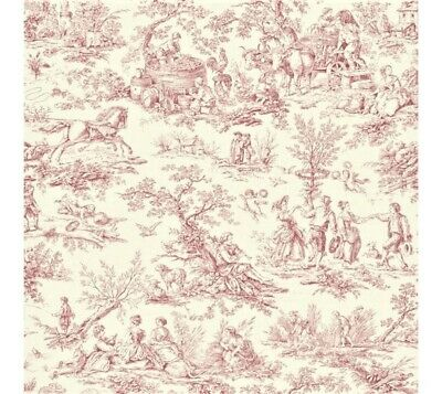 TL61401 TOILE DE JOUY 2 Aquiante WALLQUEST DESIGNER HIGH END WALLPAPER