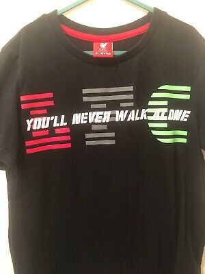Liverpool FC Official Football Gift Kids Graphic T-Shirt You'll Never Walk Alone