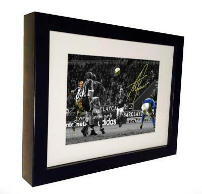 Signed Alan Shearer Goal Autographed Newcastle Photo Photograph Picture Frame
