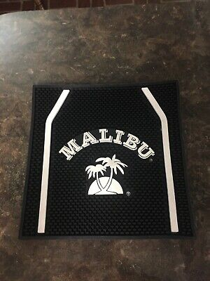 Malibu Spiced Rum rubber bar mat