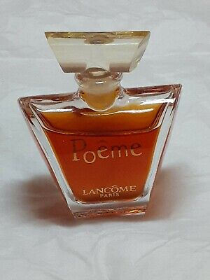 Lancome Poeme Eau De Parfum 10ml Glass Atomizer Travel Spray