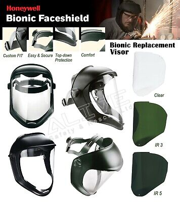 Honeywell Bionic Face Shield / Replacement Visor Screen Eye and Face Protection