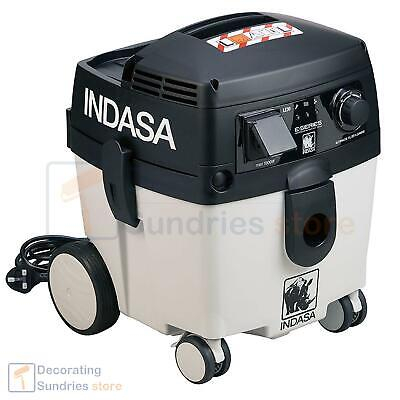 Indasa Mobile Vacuum Unit 30 Litre | Dust Extraction with Dual Filtration