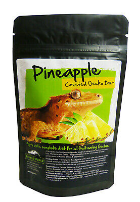 Reptile World Pineapple Gecko Food - Complete Diet - Crested Gecko - Day Gecko