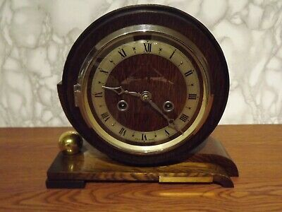 A Rare And Unusual 8 Day Striking Mantel Clock  By Enfield Circa 1930'S