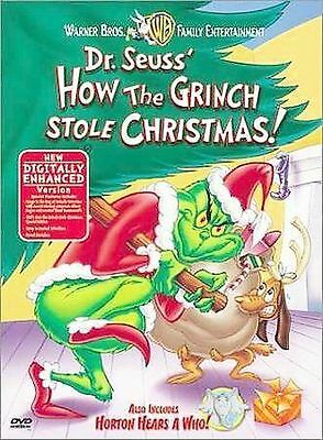 How the Grinch Stole Christmas (DVD, 2000) brand new sealed