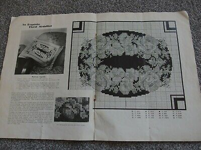 Vintage embroidery cross stitch Anchor pattern booklet