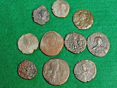 10 Varities Of Byzantine Coins