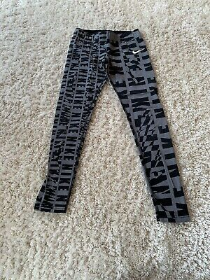 Girls Nike Leggings  age 8 to 10