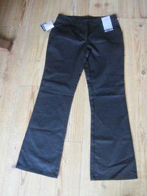 Girls Next Trousers Black 13Yrs Plus Height 158Cm Bootcut  Adjustable Waist