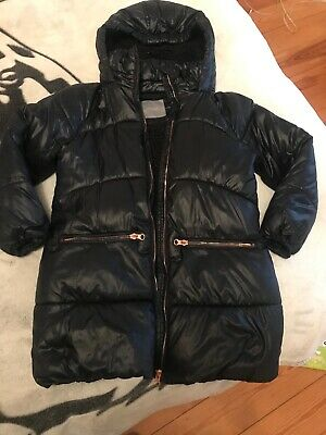 Girls Winter Jacket From Next age 7/ 8 years And A Black Blouse