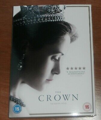 The Crown: Complete Season One (Series 1) (Box Set) [DVD] NEW