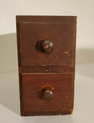 Singer Sewing Machine Vintage Wooden Treadle Drawers & Frame Right Side