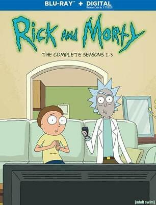 RICK & MORTY: COMPLETE SEASONS 1-3  (3PC) [Bluray]