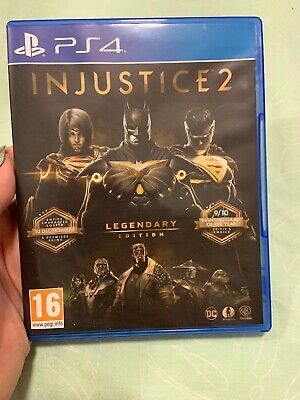 Injustice 2 Legendary Edition PS4 Fighting Game, Superheroes
