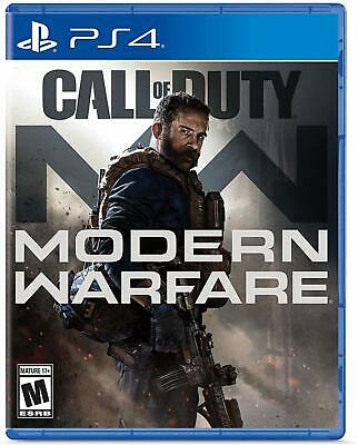 Call of Duty Modern Warfare PS4 2019 BRAND NEW FACTORY SEALED MW