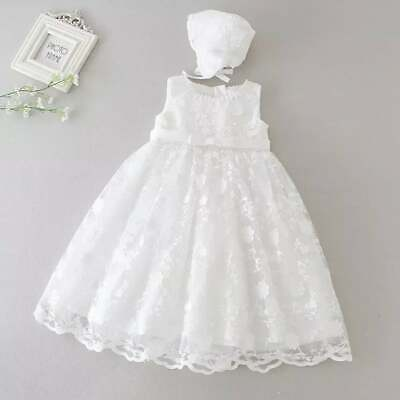 Baby Girl Christening Dress Girls Lace Baptism Dress Lace Baby Blessings Gown